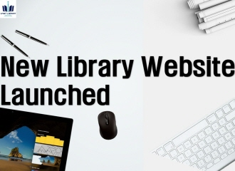 New Library Website Launched