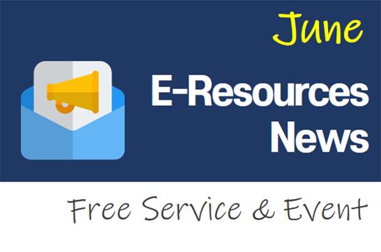 2020 June e-Resources News