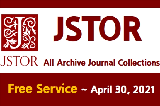 Free Service: JSTOR - All Archive Journal Collection