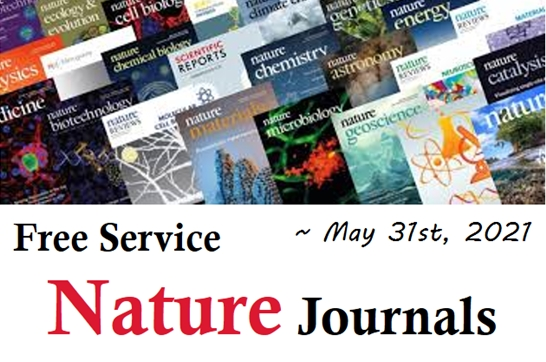 Free Service: Nature Journals A-Z