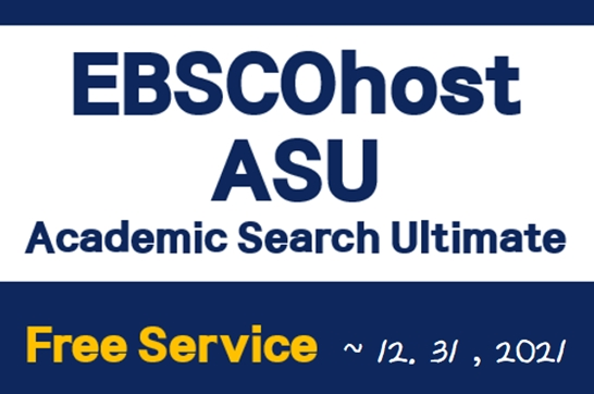 Free Service: EBSCOhost Academic Search Ultimate - Abstract & Index (+ Full Text) Database (~12.31)