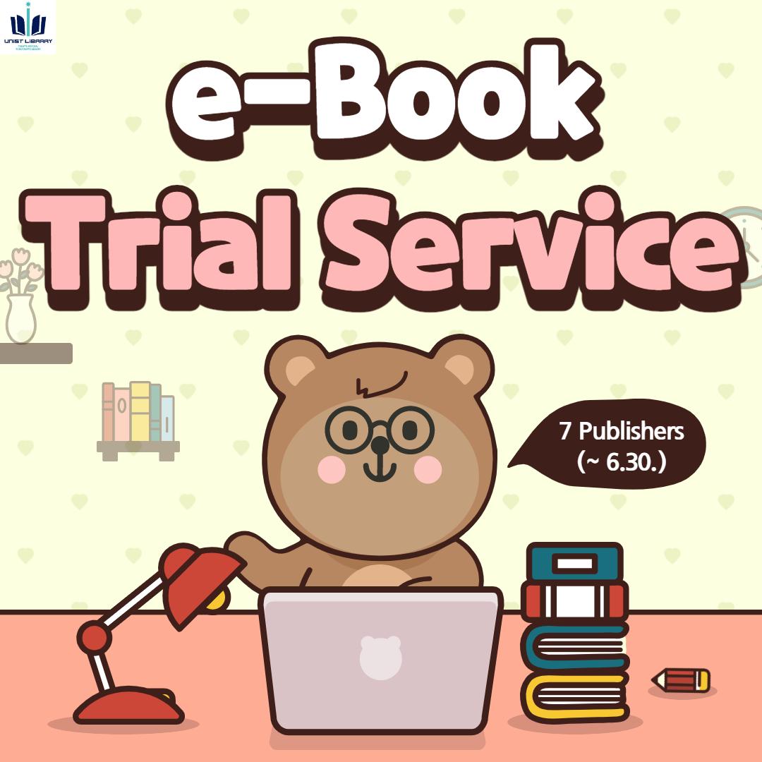 [e-Books Free Access] 7 Publishers (~6.30.)