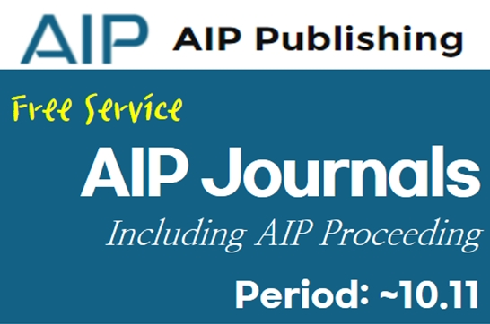 Free Service: AIP Journals A-Z (~10.11)